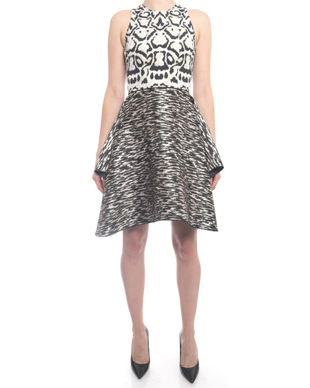 Giambattista Valli Fall 2014 Animal Print Cocktail Dress - XSS
