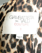 Giambattista Valli Haute Couture Fall 2011 Leopard and Feather Evening Gown
