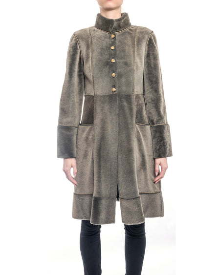 Chanel Pre-fall 2009 Russian Brown Shearling Coat