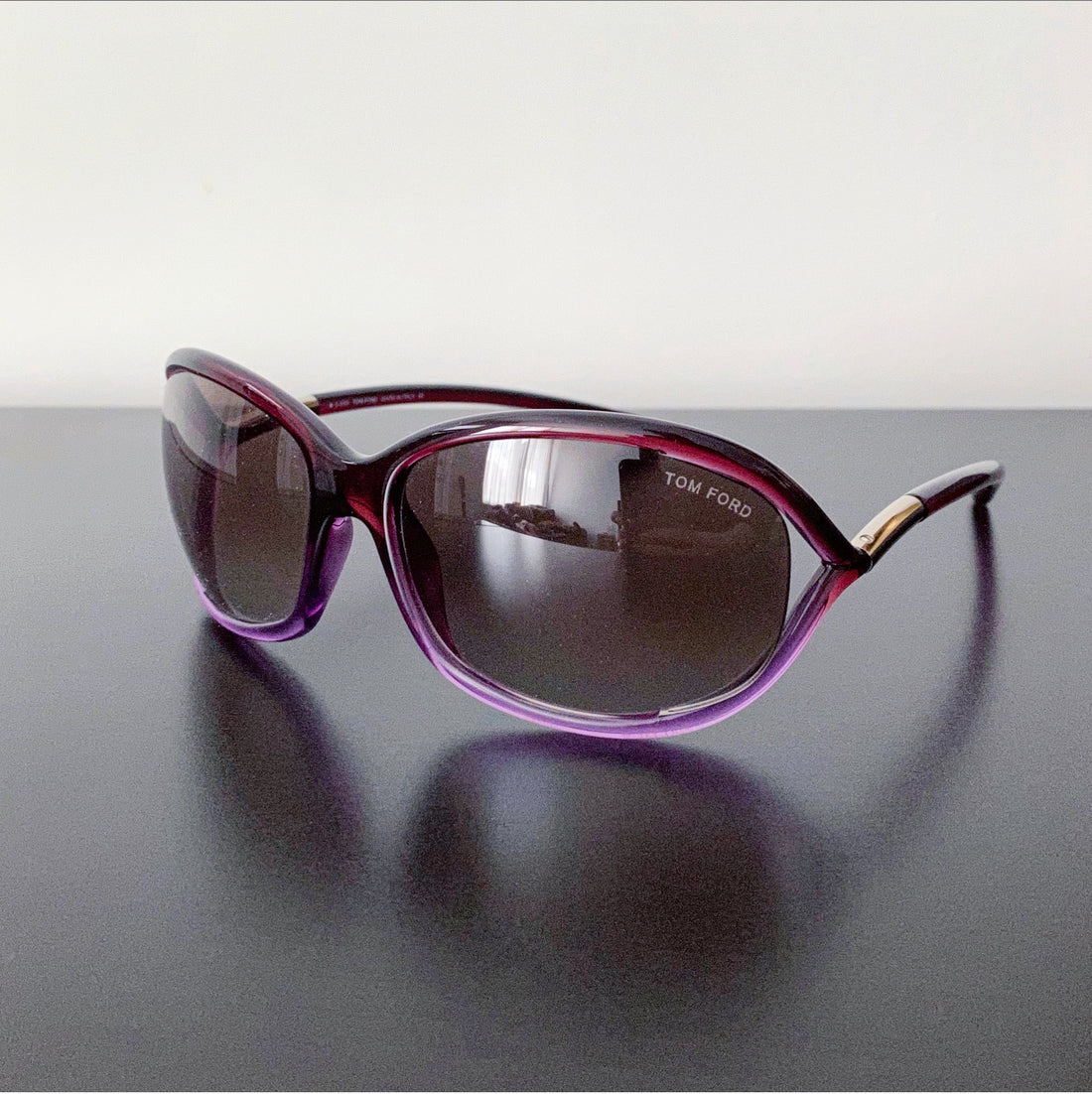 Tom Ford Purple Jennifer TF8 Sunglasses
