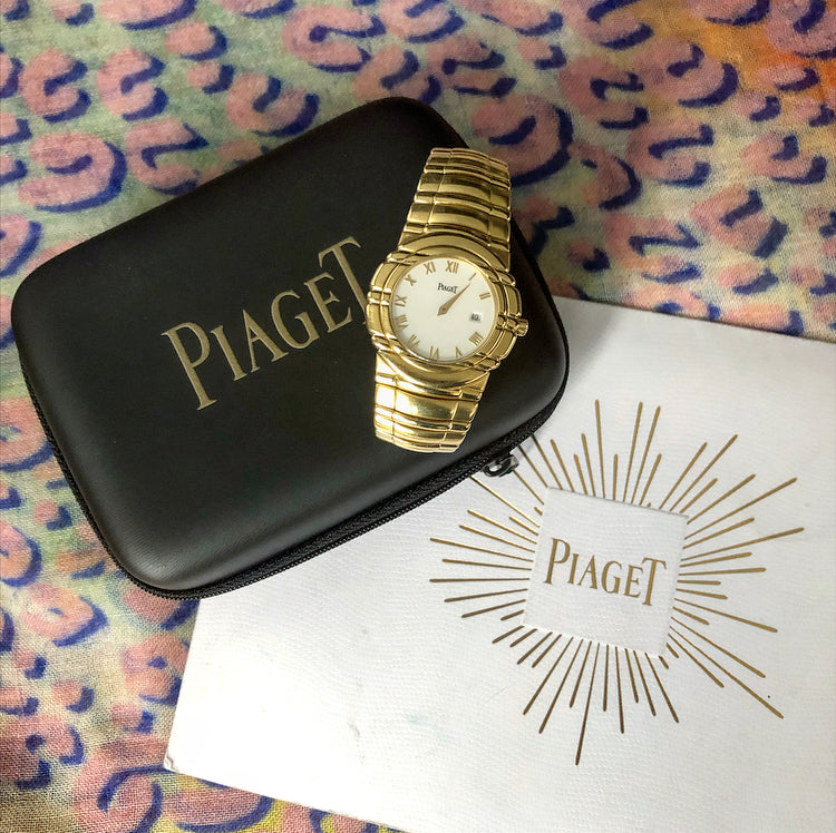 Piaget Tanagra 18K Yellow Gold 33mm Ladies Wrist Watch