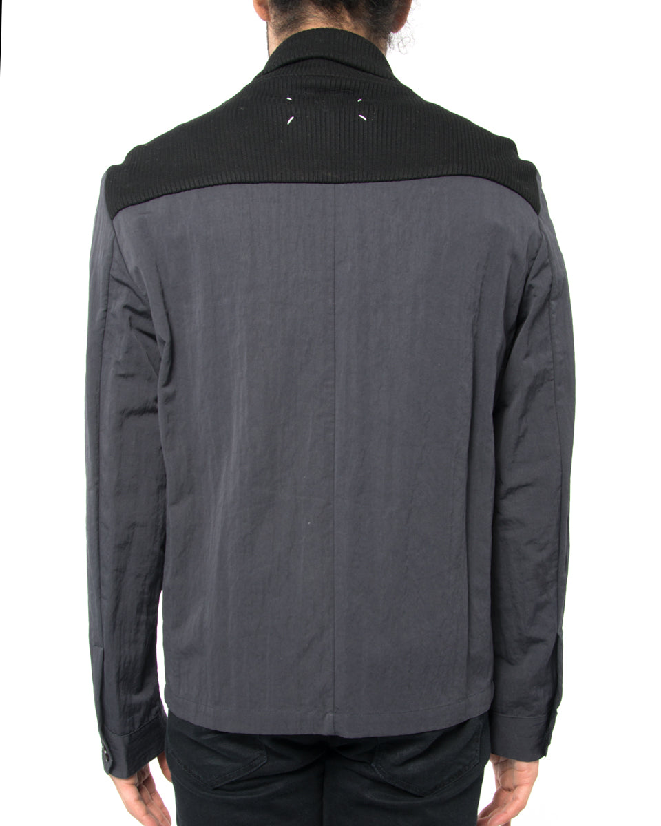 Maison Martin Margiela Zip Jacket with Knit Inset