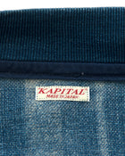 Kapital Japan Indigo Sriped Linen Bomber Jacket