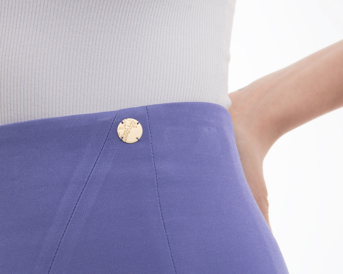 Versace Collection Lavender Purple Pencil skirt - 6