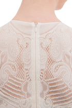 Valentino Ivory Lace Cocktail Dress