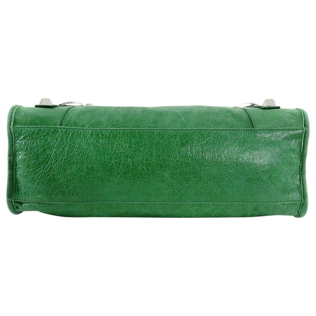 Balenciaga Green Motocross Giant 21 City Bag