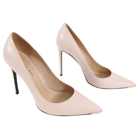 Barbara Bui Nude Blush 105mm High Heel Pumps - 38 / 7.5