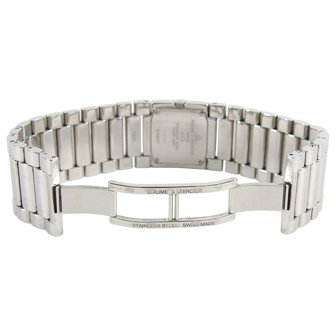 Baume and Mercier Catwalk Stainless Diamond Tank Watch