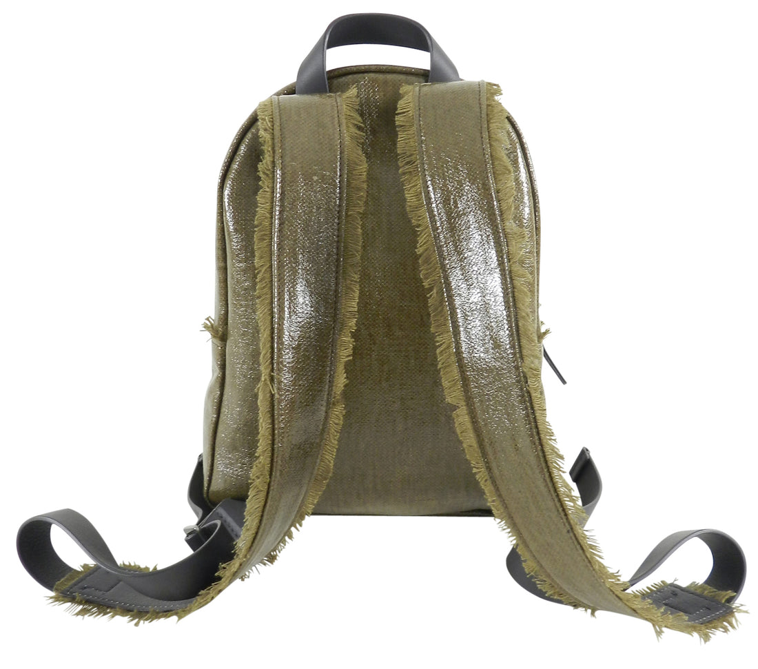 Brunello Cucinelli Coated Canvas Small Backpack
