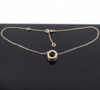 Bulgari B Zero 1 Ceramic 18k Rose Gold Pendant Necklace