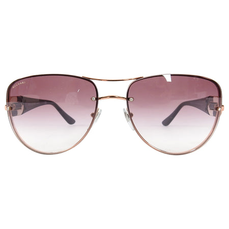 Bulgari Rosegold and Violet Gradient 6053 Sunglasses