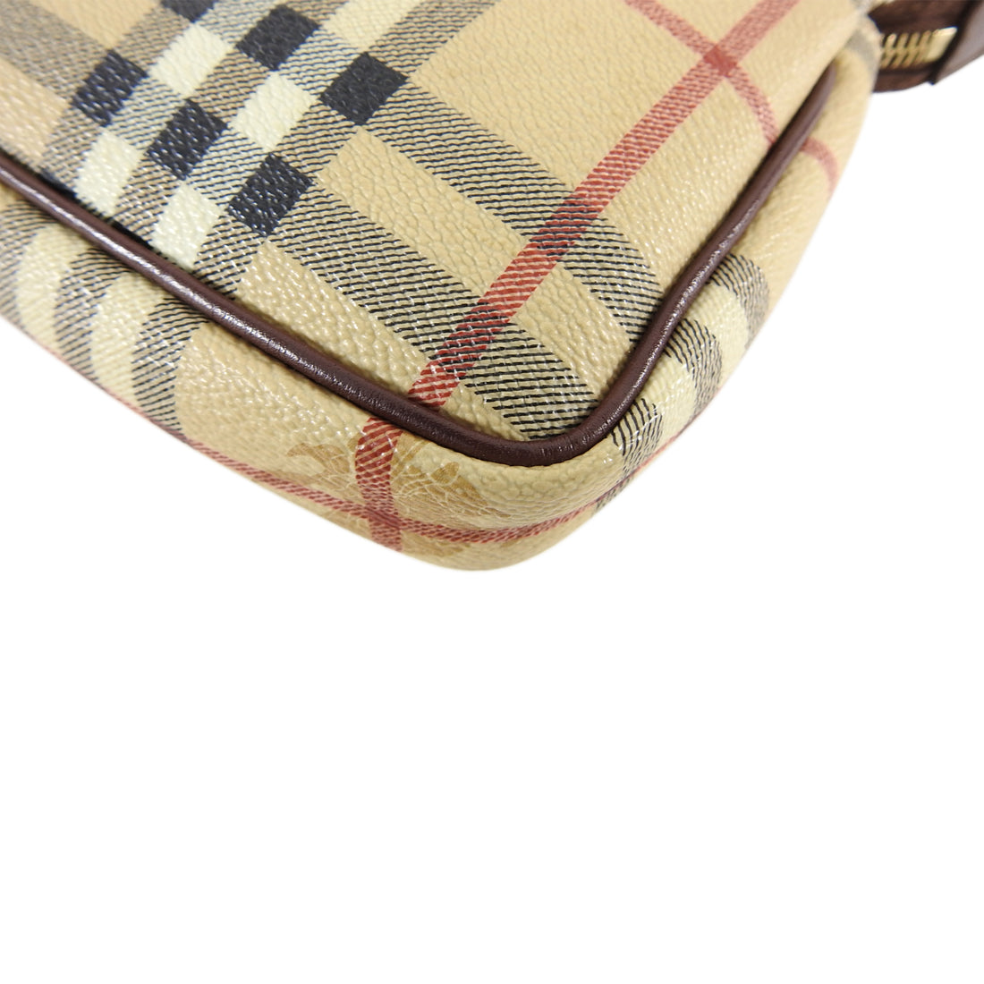 Burberry Nova Check Plaid Small Pochette Bag