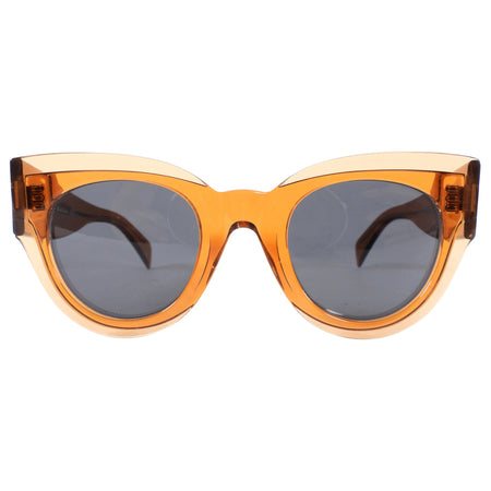 Celine Transparent Amber Sunglasses