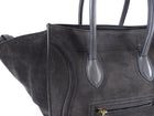 Celine Charcoal Grey Phantom Luggage Tote Bag
