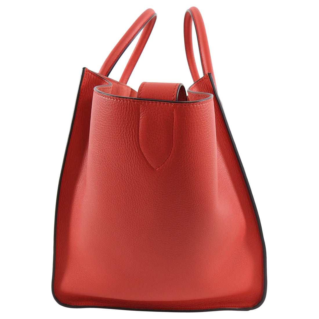 Celine Red Medium Phantom Tote Bag New
