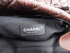 Chanel Brown Quilted Lady Braid Tote Bag