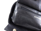 Chanel Vintage 2000 Black Caviar Small Timeless CC Tote Bag