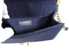 Chanel Denim Tweed Medium Boy Bag