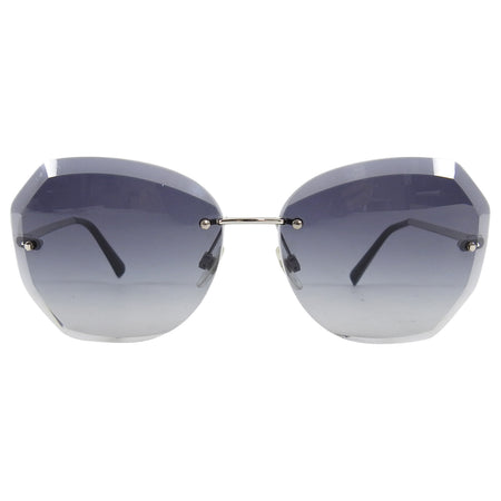 Chanel Frameless Faceted Clear Sunglasses 4220