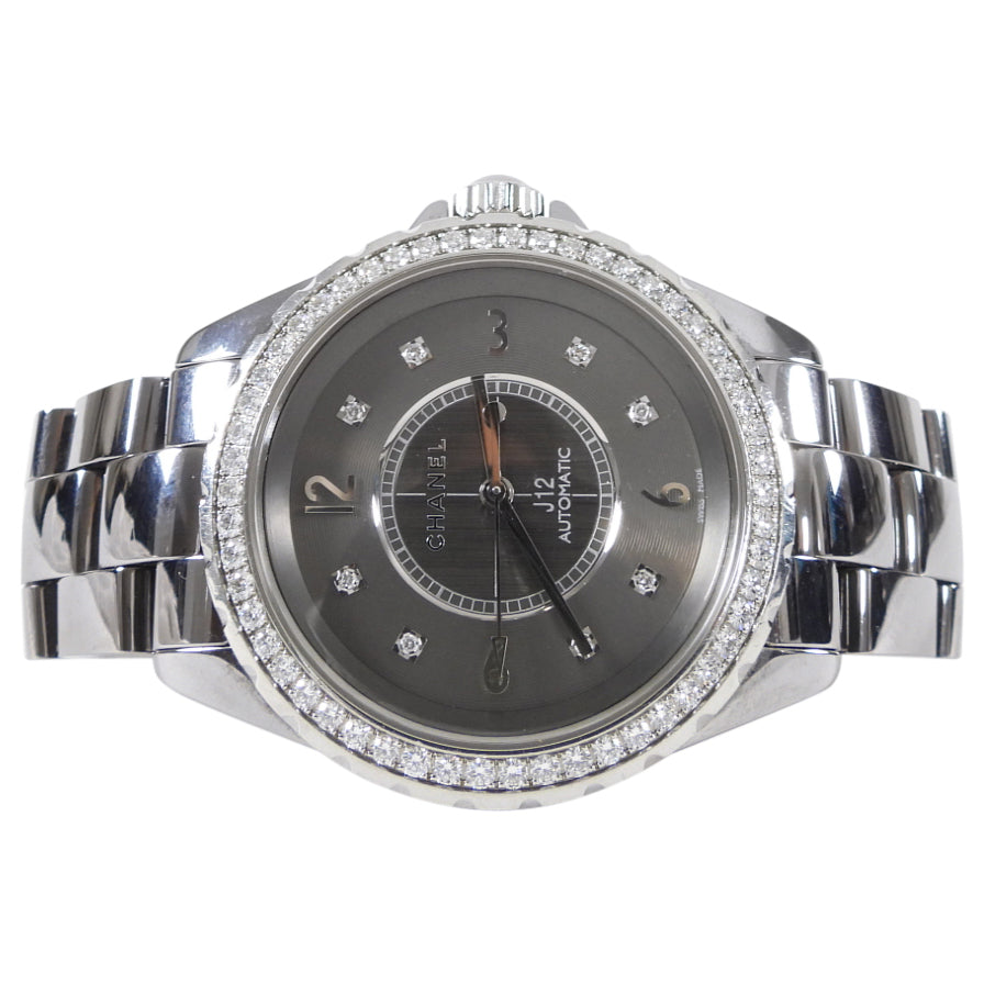 Chanel J12 Chromatic Diamond Titanium 38mm Watch