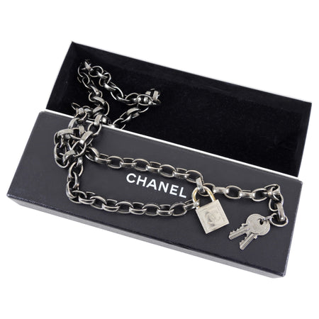 Chanel Vintage 03A Padlock and Key Chain Belt