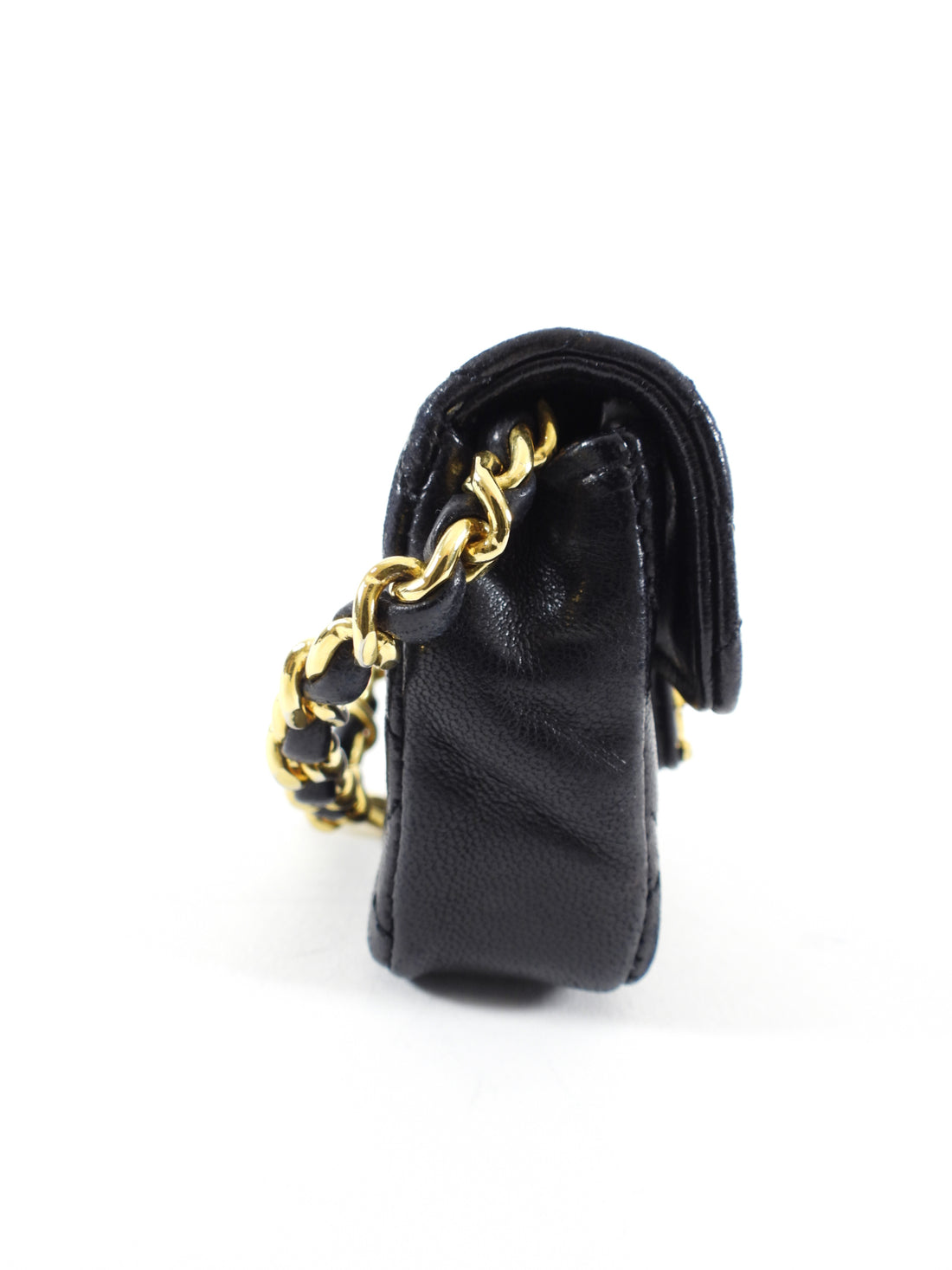 Chanel Vintage 1990's Micro Flap Bag Charm for Belt