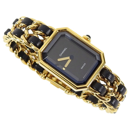 Chanel Vintage 1987 Premiere Watch Chain Link Bracelet