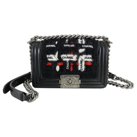 Chanel Le Boy 16K Red and Black Limited Edition Le Boy Bag
