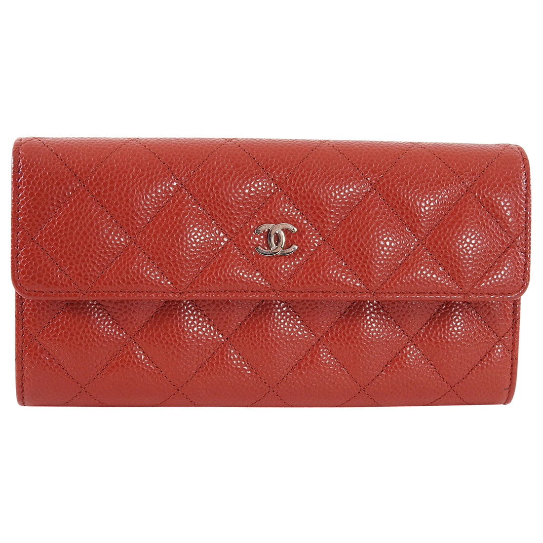Chanel Caviar Quilt Continental CC Long Wallet