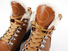 Chloe Tan Bella Shearling Mountain Boots - 37
