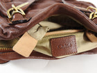 Chloe Cognac Brown Leather Paraty Convertible Bag