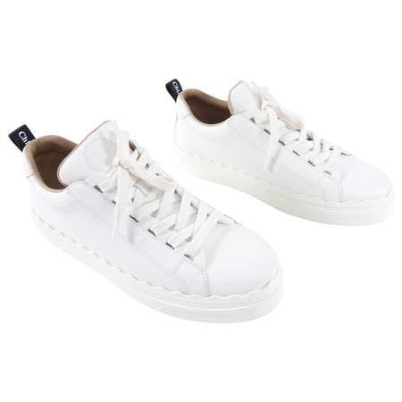 Chloe Lauren White Low Top Sneakers - 41