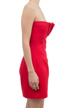 D Squared Red Strapless Mini Dress