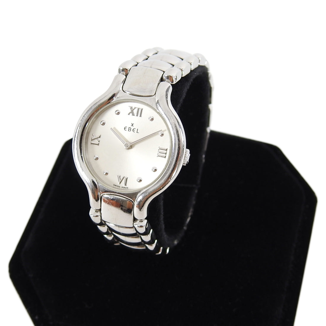 Ebel Ladies Stainless Steel Beluga 27mm Watch