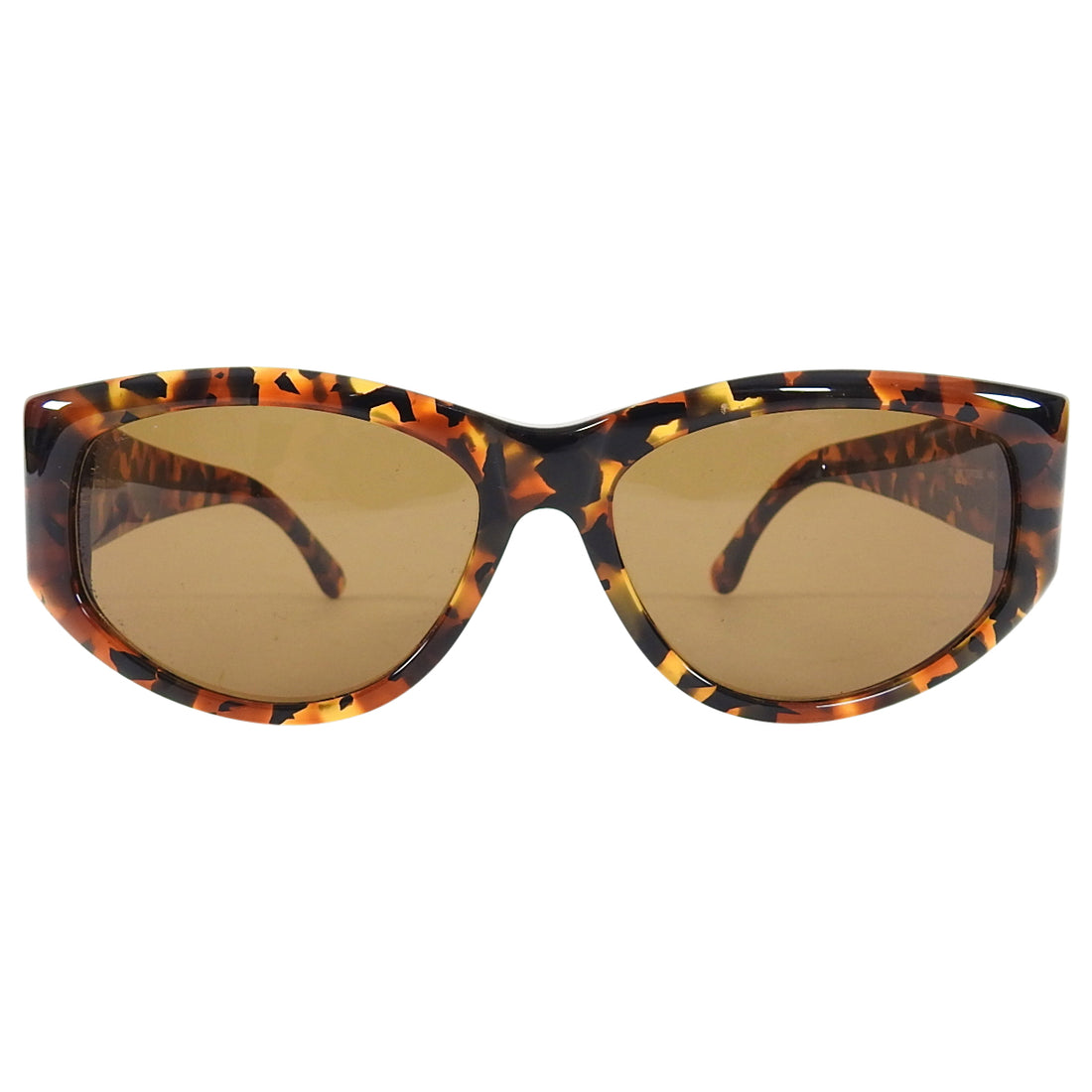 Fendi Vintage 1990's Tortoise and Gold Sunglasses FS146