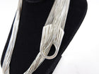 Jean Paul Gaultier Vintage Silver Plated Chain Mesh Belt / Necklace
