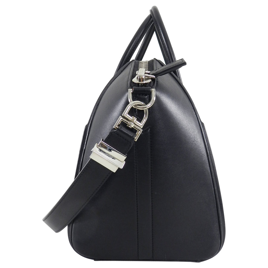 Givenchy Black Leather Antigona 3-D Animation Bag Medium
