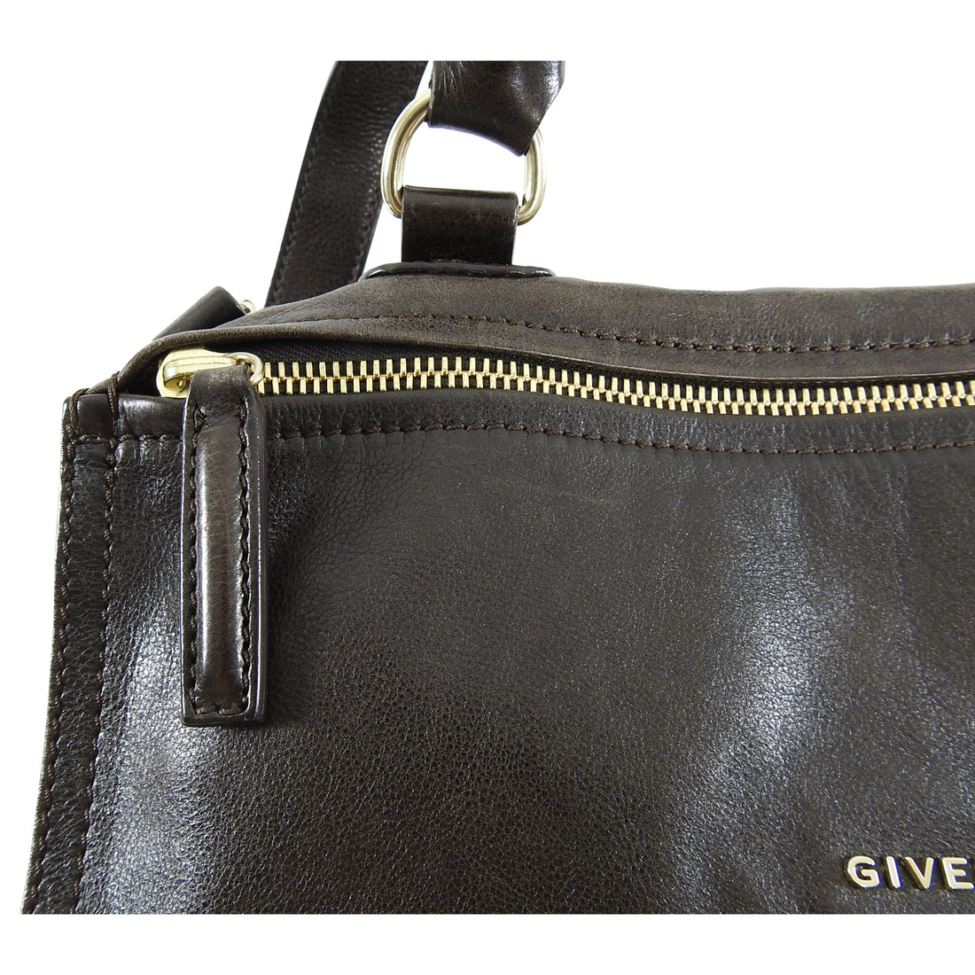Givenchy Medium Brown Leather Pandora Bag