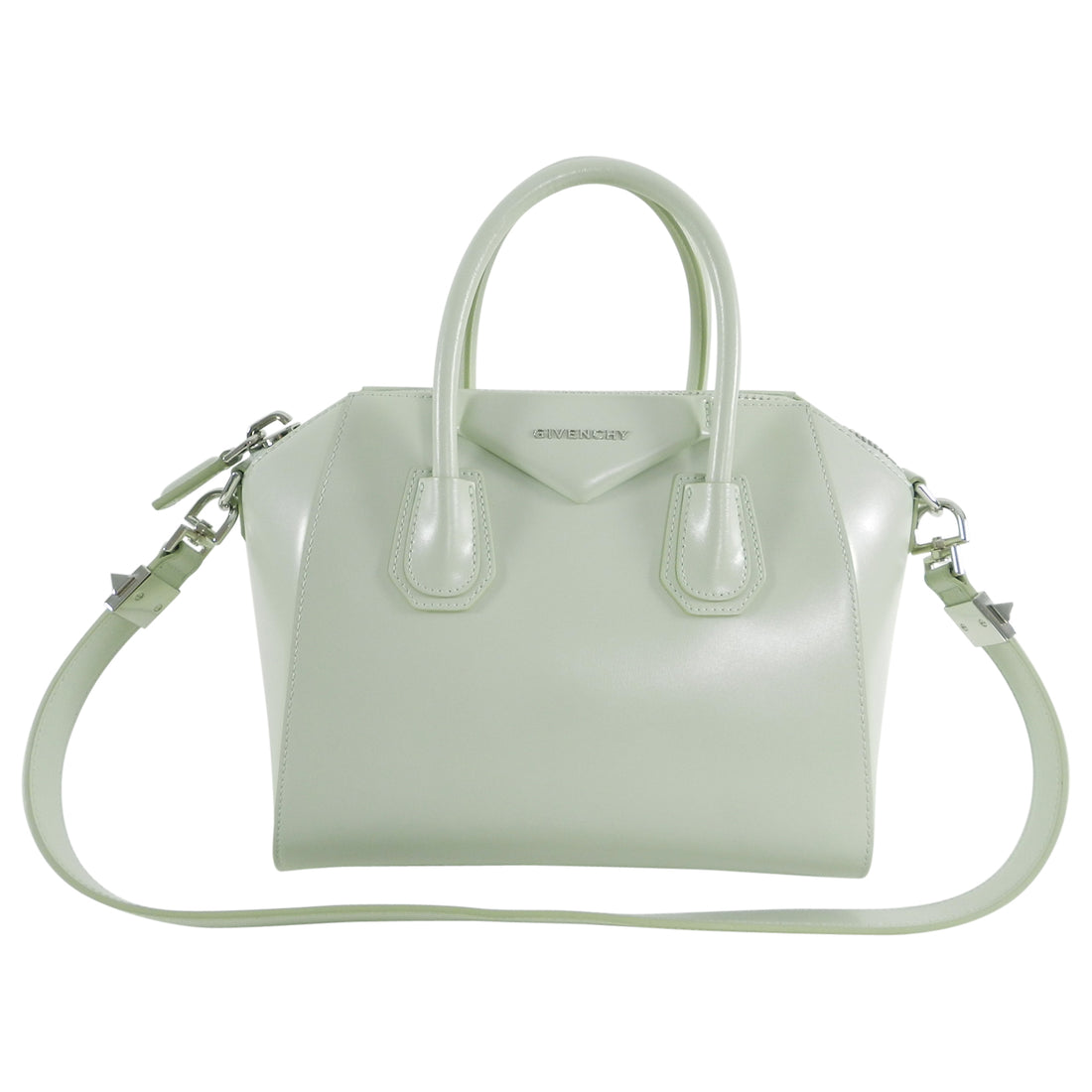 Givenchy Aqua Green Small Antigona Bag