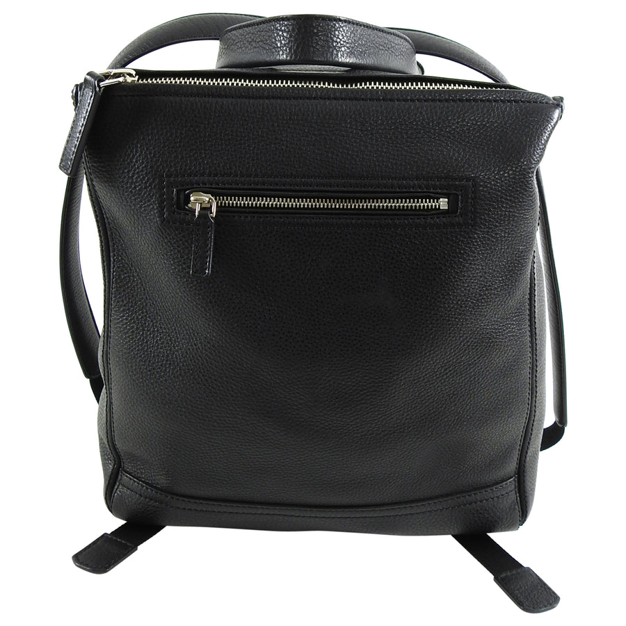Givenchy Pandora Black Leather Backpack Bag