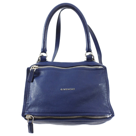 Givenchy Dark Blue Small Pandora Leather Bag