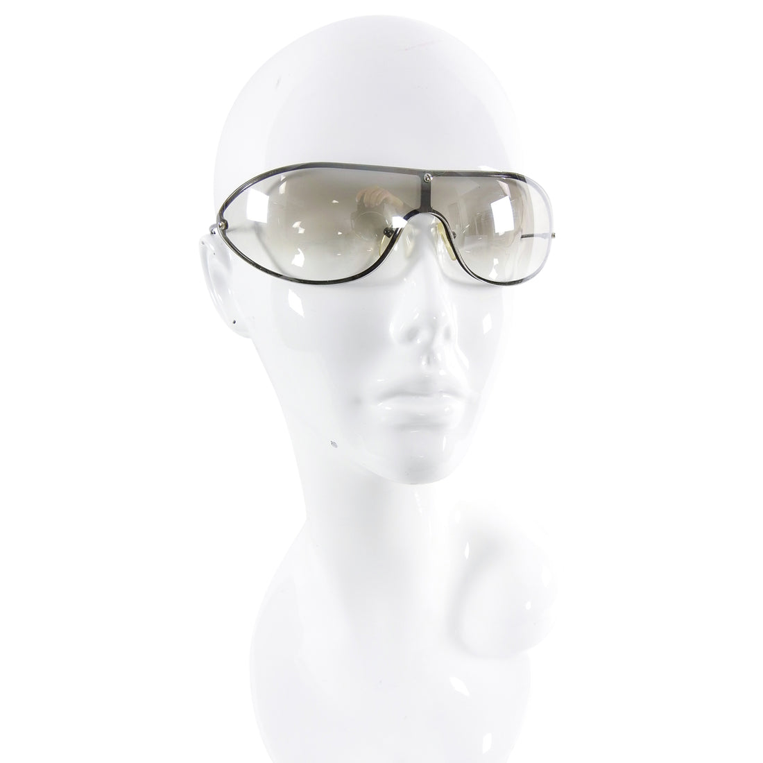 Gucci Vintage 2001 Tom Ford Kate Moss Clear Runway Sunglasses