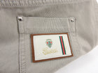 Gucci Light Beige Denim Crop Low Rise Jeans - IT40 / 4