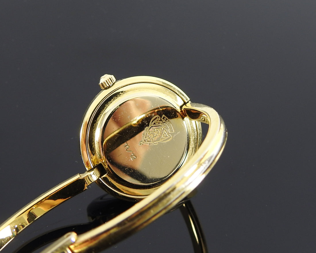 Gucci Vintage 1980's Interchangeable Bezel Bracelet Watch