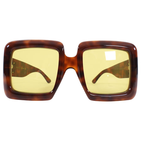 Gucci Brown Oversized Square Sunglasses GG0783S