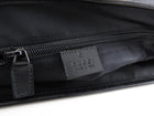 Gucci GG Supreme Black Messenger Computer Bag