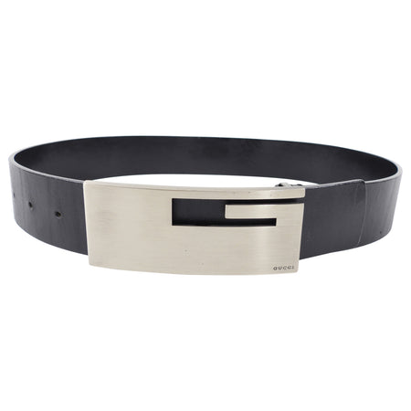 Gucci Tom Ford Vintage Brushed G Buckle Belt - 75/30