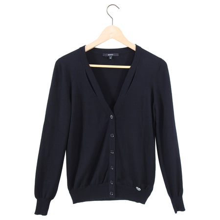Gucci Black Cashmere Cardigan and Tank Twin Set - S (USA 6)