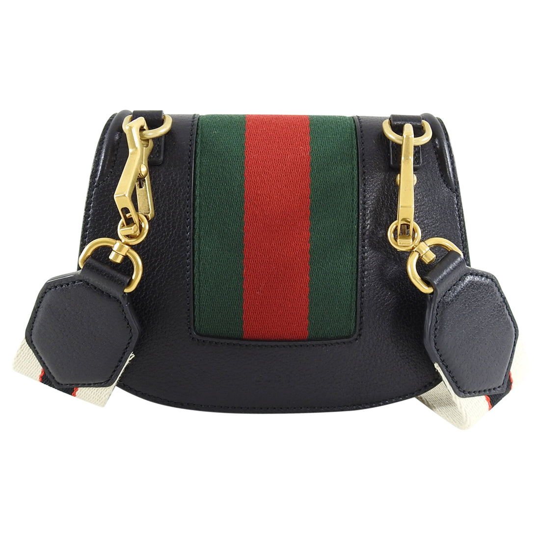 Gucci Linea Totem Small Crystal Rhinestone Crossbody Bag