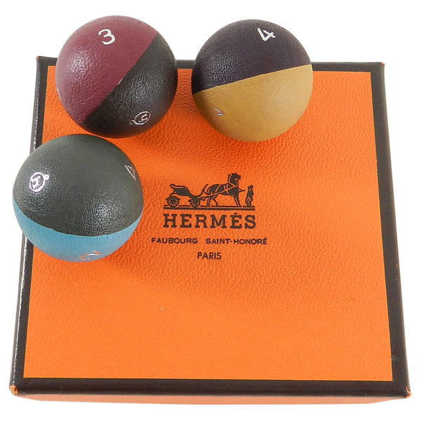 Hermes Triple Globe Dice Gaming Set